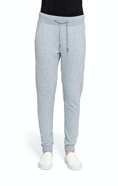 Onepiece Slow Pants Grey Melange Printed