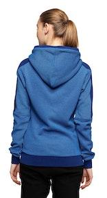 Onepiece Slow Zip Hoodie Depth Blue Melange