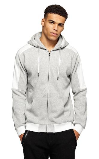 43687422f Slow Zip Hoodie Black   jacket   Onepiece
