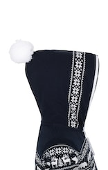 Onepiece Snowball Baby Jumpsuit Navy