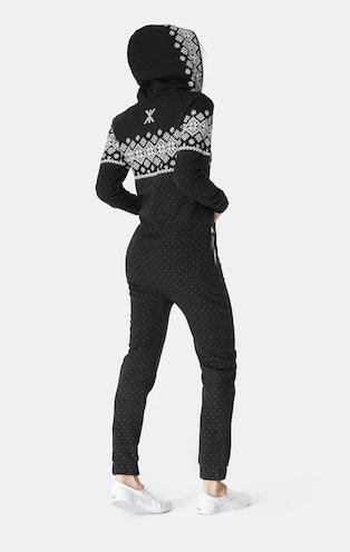Onepiece Snowdrift Jumpsuit Black