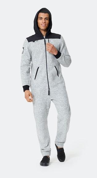 Onepiece Sofa Explorer Jumpsuit Grey Melange