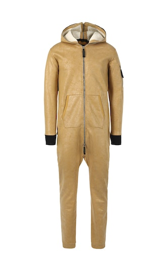 Onepiece Soft Bomber Jumpsuit Came