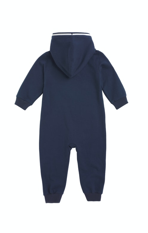 Onepiece Solid Baby Jumpsuit Navy