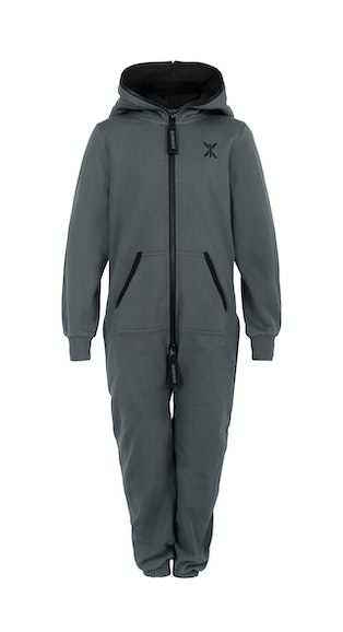 Onepiece Solid Kids Jumpsuit Army