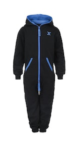 Onepiece Solid Kids Jumpsuit Black