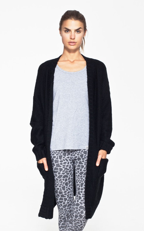 Onepiece Sophia Knitted Cardigan Black