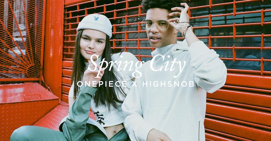 Spring City : Onepiece x Highsnobiety