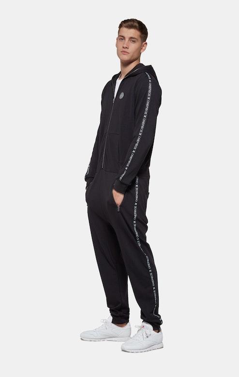 Onepiece Sprinter Jumpsuit Black