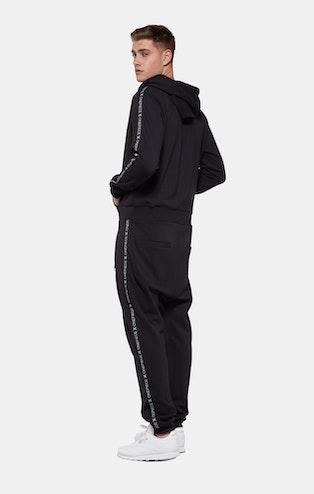 Onepiece Sprinter Jumpsuit Schwarz