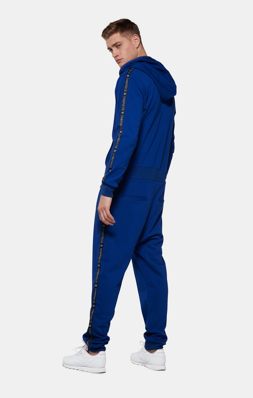 Onepiece Sprinter Jumpsuit Blau