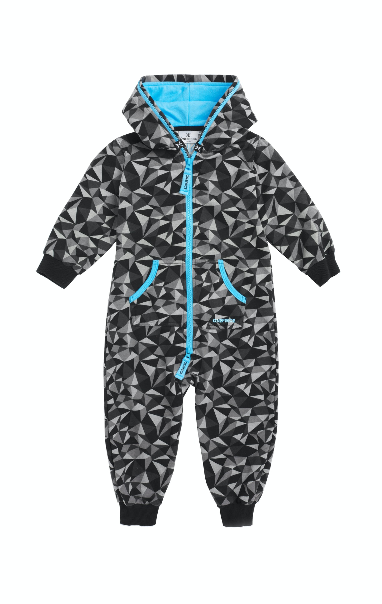 Prismatic Baby Jumpsuit Black A mini version of the Original Onepiece, scaled down and adapted to fit your toddler. Match your mini-me up with yourself in this super soft onesie for the most fab snuggle look ever.