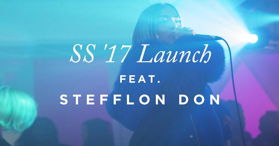 Onepiece X Stefflon Don for SS17