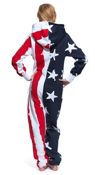 Onepiece Stars & Stripes Onesie Navy/Red/White