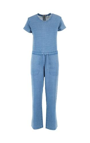 Onepiece Start Jumpsuit Vintage Blue Melange