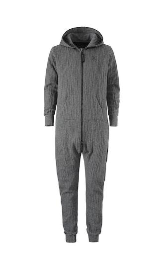 Onepiece Stretch Jumpsuit Dark grey melange