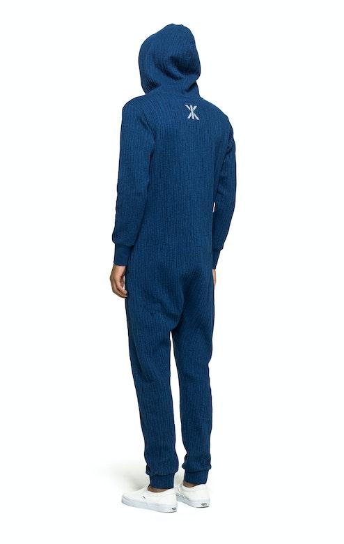Onepiece Stretch Jumpsuit Stain blue melange