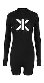 Onepiece Swift Short Jumpsuit Black