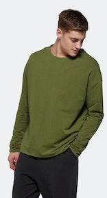 Onepiece Tag Sweater GREEN