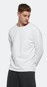 Onepiece Tag Sweater WHITE