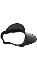 Onepiece Tan Visor Black Black lens / Black