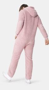 Onepiece Teddy Fleece Jumpsuit 2.0 Soft Pink