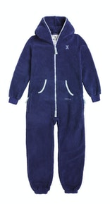 Onepiece Teddy Kids Jumpsuit ミッドナイトブルー