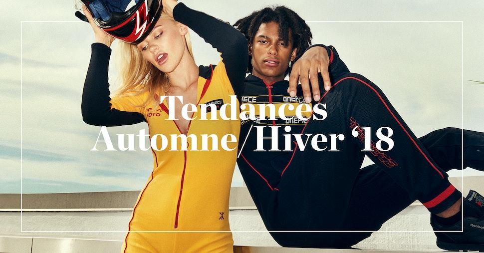 Tendances Onepiece Automne/Hiver 2018