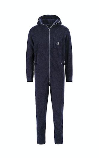 142ab86db9ad Onepiece Terry Churchill Jumpsuit Dark Blue