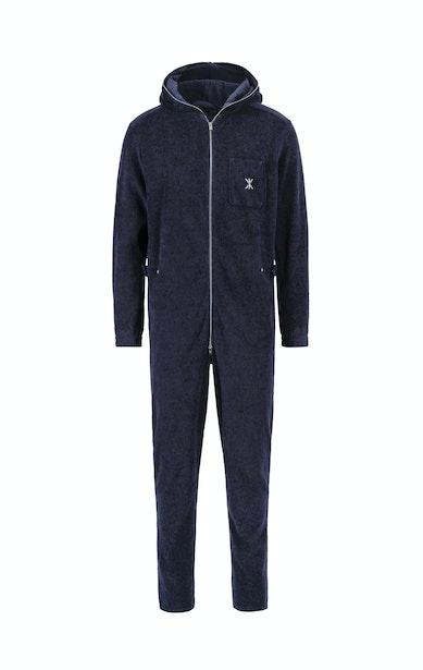Onepiece Terry Churchill Jumpsuit Bleu foncé