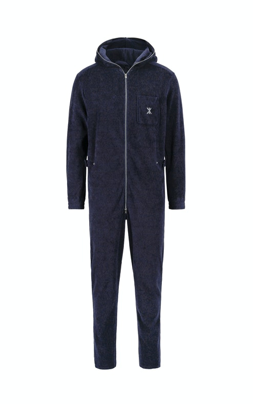 Onepiece Terry Churchill Jumpsuit Dark Blue