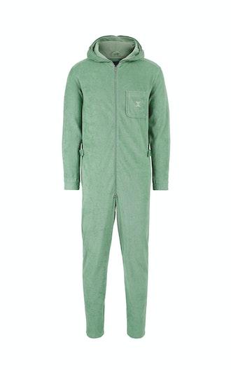 3bddf80159d Onepiece Terry Churchill Jumpsuit Vintage Green