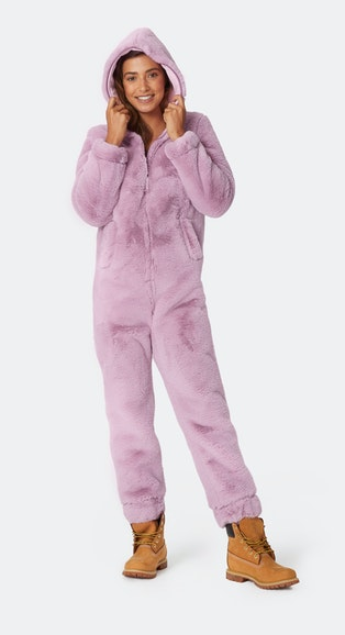Onepiece The Boss Jumpsuit Vintage Pink