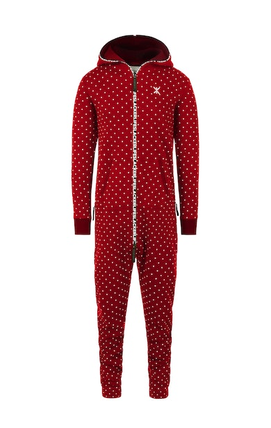 Onepiece The Dot Jumpsuit Red