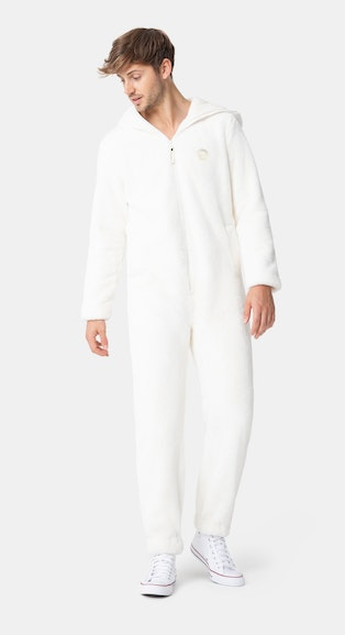 Onepiece The Fluff Jumpsuit Off white