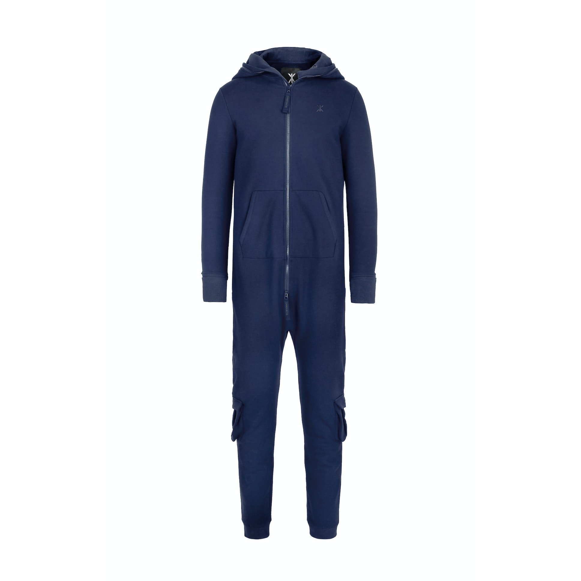 the inflatable travel jumpsuit midnight blue