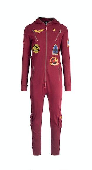 Onepiece The New Aviator Jumpsuit Dark Red