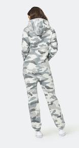 Onepiece The New Camo fleece Jumpsuit White