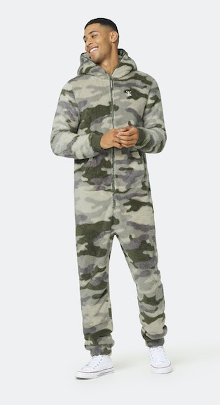 Onepiece The New Puppy jumpsuit Army Camo
