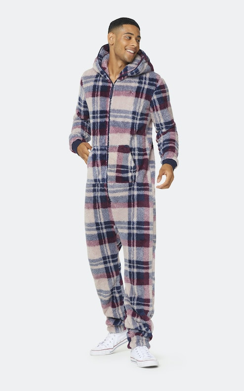 Onepiece The New Puppy jumpsuit Check