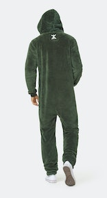 Onepiece The New Puppy jumpsuit Green