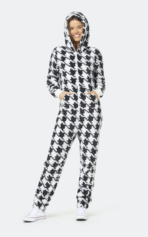 Onepiece The New Puppy jumpsuit Houndsthooth