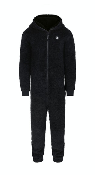 Onepiece Teddy Fleece Jumpsuit 2.0 Black