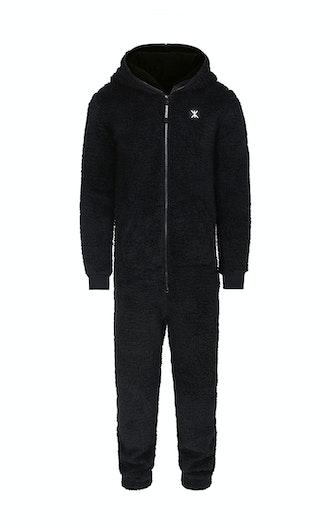 Onepiece Teddy Fleece Jumpsuit 2.0 Schwarz