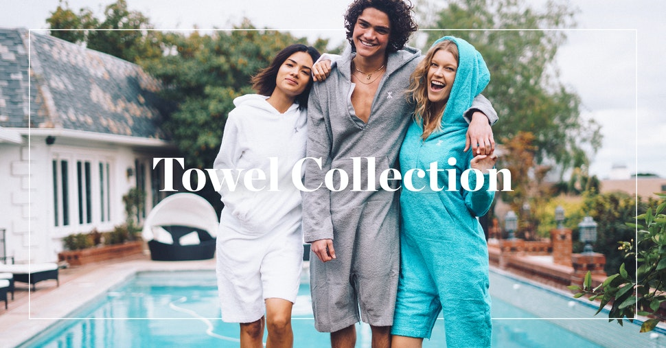 The Onepiece Towel Collection has arrived