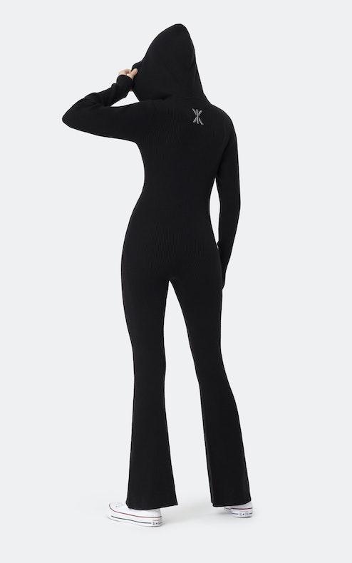 Onepiece The Rib slim jumpsuit Black