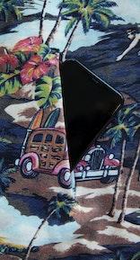 Onepiece The Vintage Hawaii hoodie Blue mix