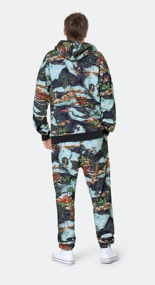 Onepiece The Vintage Hawaii pant Blue mix