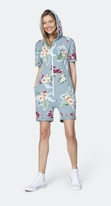Onepiece The Vintage Waikiki Short Jumpsuit Dusty Blue