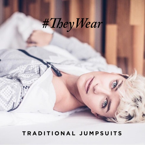 #TheyWear: Traditionelle Jumpsuits
